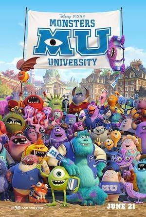 image for Gana boletos para el estreno de <i>Monsters University</i>