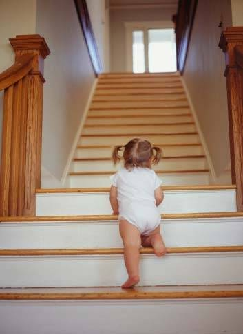 Escaleras Accidentes Para Ninos Ser Padres