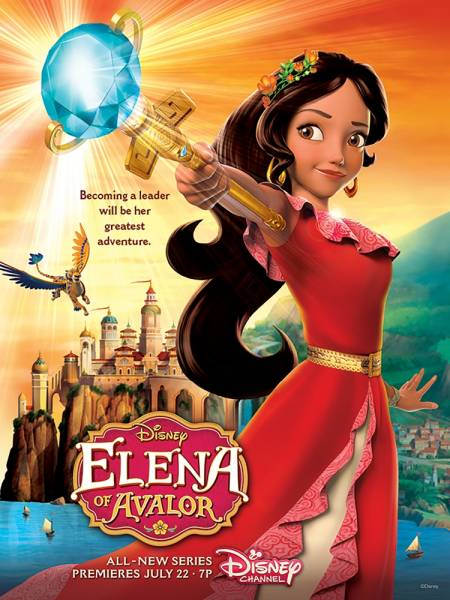 "image for La primera princesa latina de Disney ""Elena de Avalor"", estrenará serie (VIDEO)"