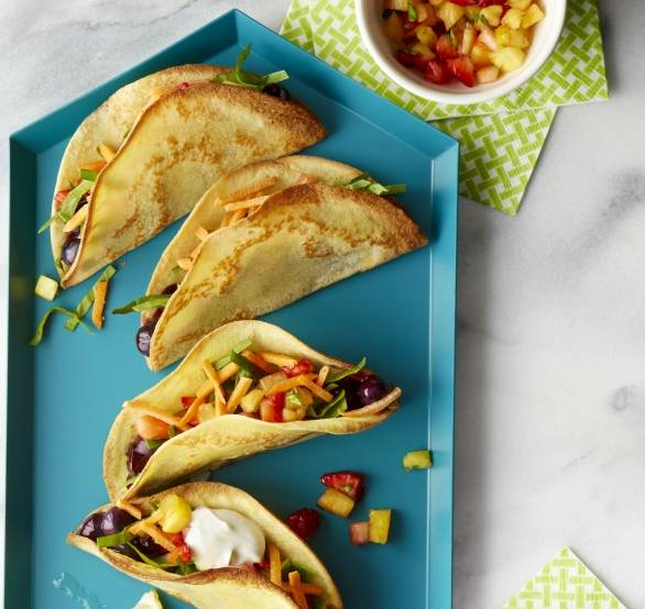 image for Fiesta food: comó hacer tacos tutti frutti