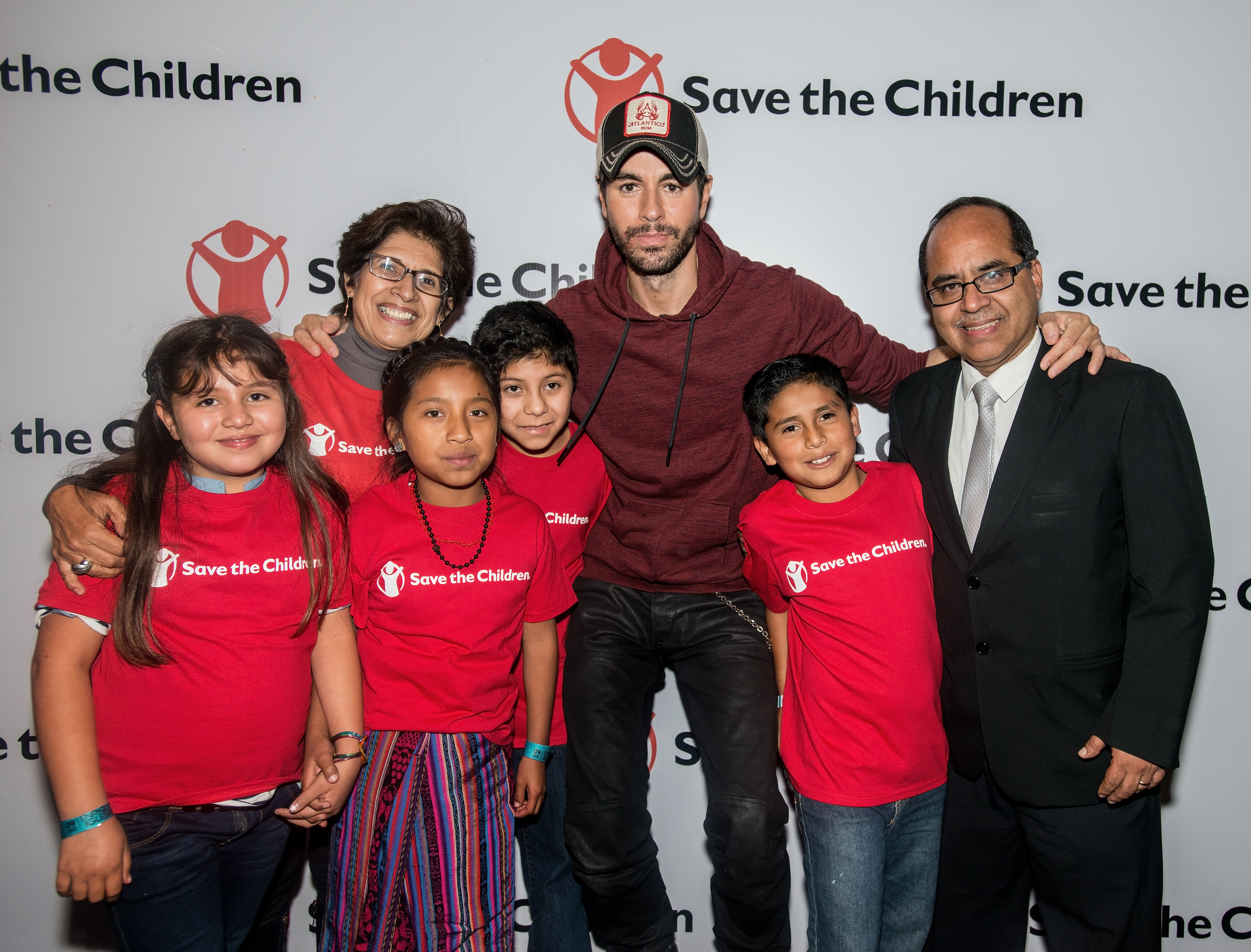 Save the Children meet and greet with Enrique Iglesias