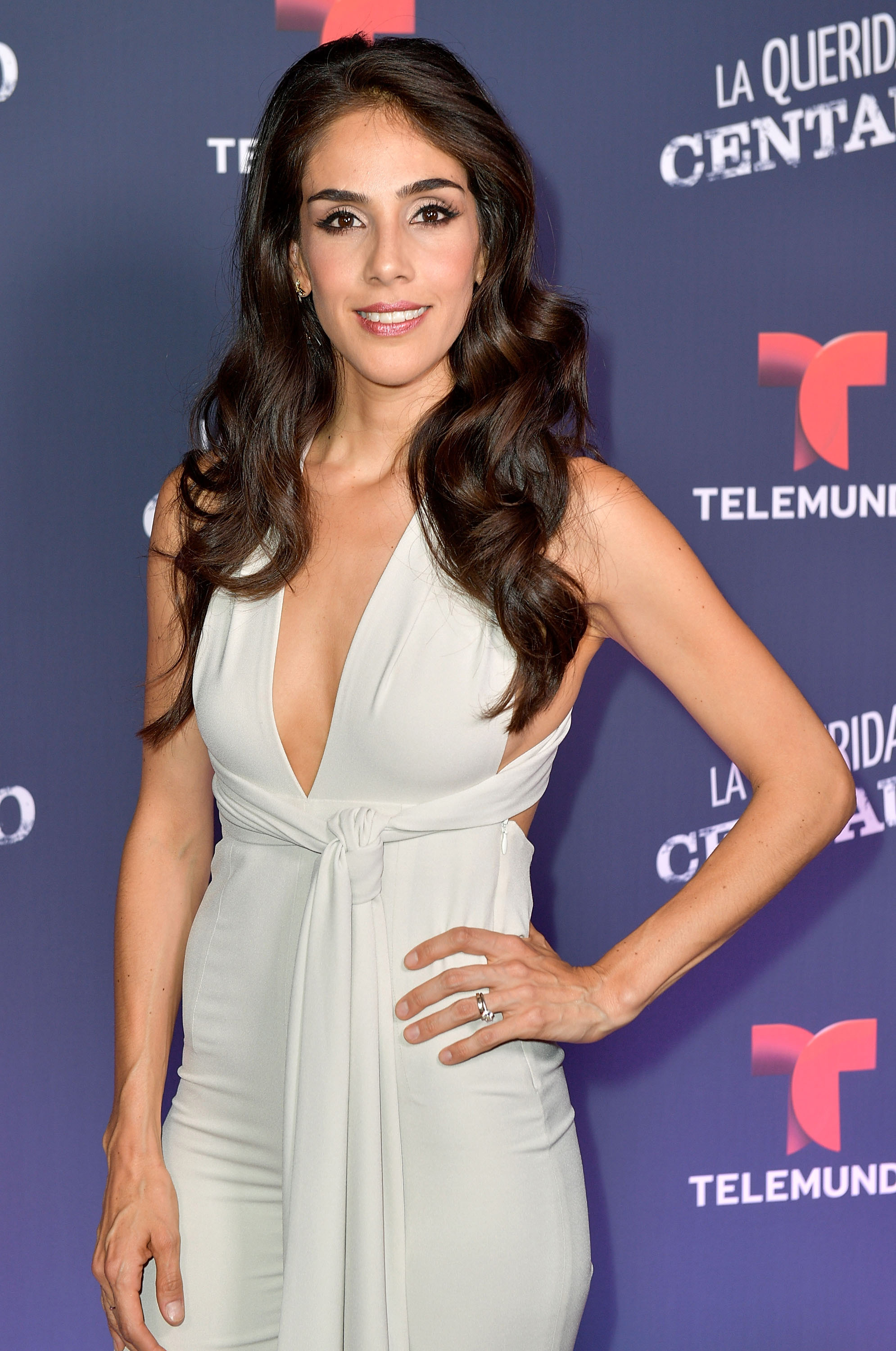 "CORAL GABLES, FL - MAY 02: Sandra Echeverria attends the Telemundo screening of ""La Querida Del Centauro"" on May 2, 2017 in Coral Gables, Florida. (Photo by Gustavo Caballero/Getty Images)"